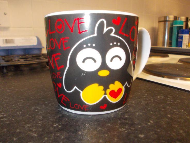 my penguin mug