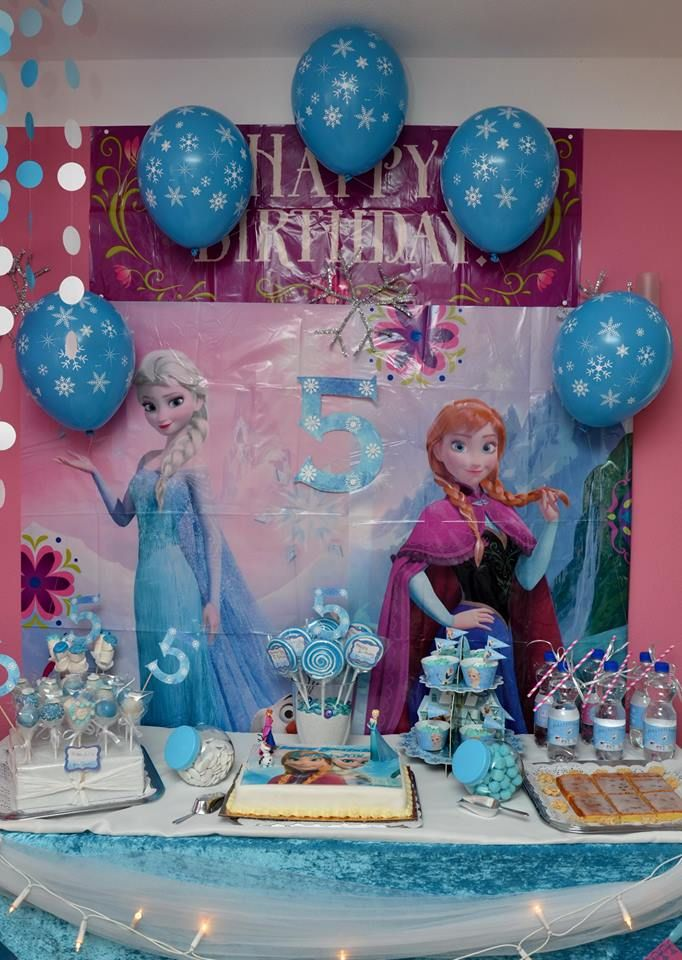 frozen balloons frozen candybar eisk niginnen dekoration. Black Bedroom Furniture Sets. Home Design Ideas