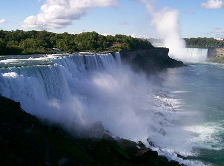 ナイアガラの滝 カナダ