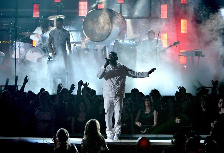 Kendrick Lamar, Imagine Dragons Stun With 'Radioactive' Grammy Collabo