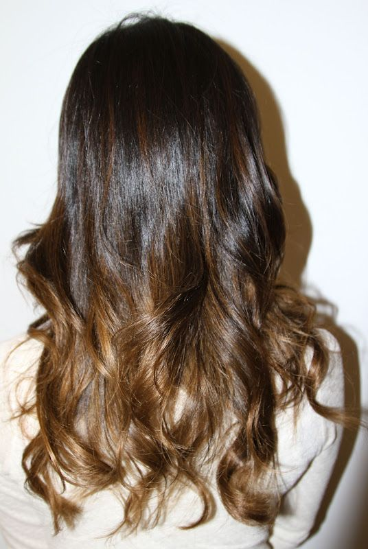 Subtle brunette ombre....and do-able for people like us Sierra!