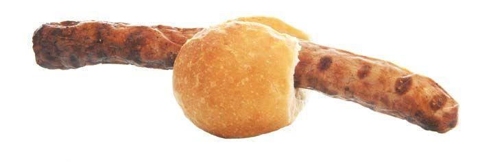 Sprengt jedes Brötchen! Die Coburger Bratwurst! Jumbo ist nix dagegen.
