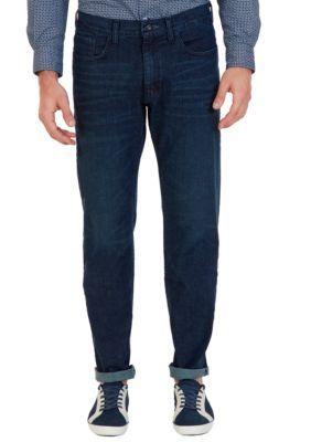 Nautica Men's Pure Adriatic Sea Relaxed Fit Stretch Jeans - Pure Adriatic Sea - 36 X 30