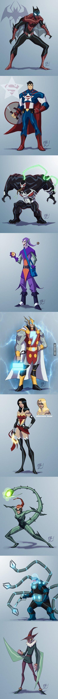 Marvel + DC: