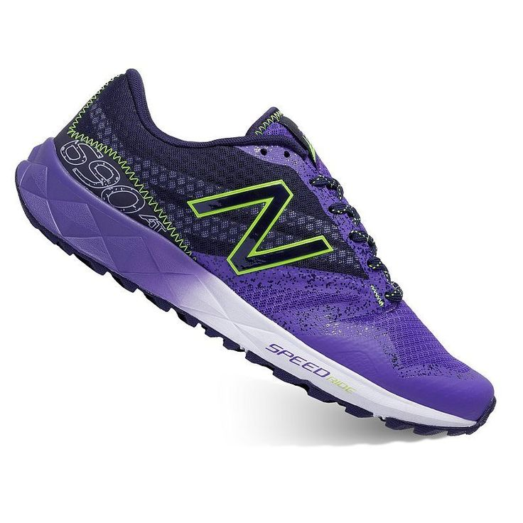 New Balance 690 v1 Women's Trail-Running Shoes, Size: 5.5 Wide, Purple Oth