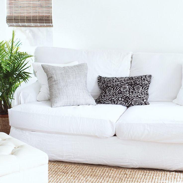 Sofa Slipcover No Sew: No-sew Couch Cover Via Gold Morning Blog