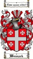 Womack Coat of Arms / Womack Family Crest - www.4crests.com #coatofarms #familycrest #familycrests #coatsofarms #heraldry #family #genealogy #familyreunion #names #history #medieval #codeofarms #familyshield #shield #crest #clan #badge #geneology #tattoo #ancestry