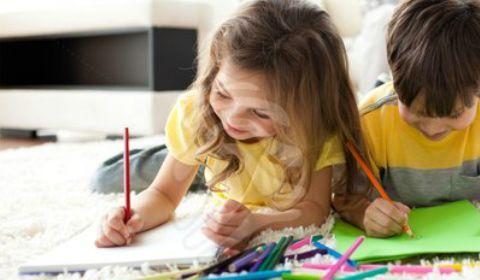 Bladspiegel :: Kindertekeningen