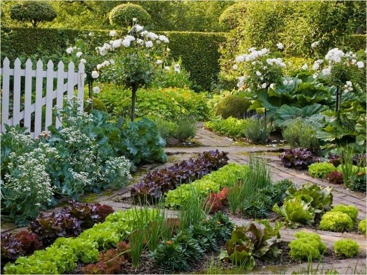 Most Beautiful Vegetable Gardens 17 Beautiful Gardens