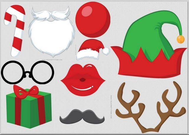 Photo Booth Navideño para Imprimir Gratis.. | Ideas y material gratis para fiestas y celebraciones Oh My Fiesta!