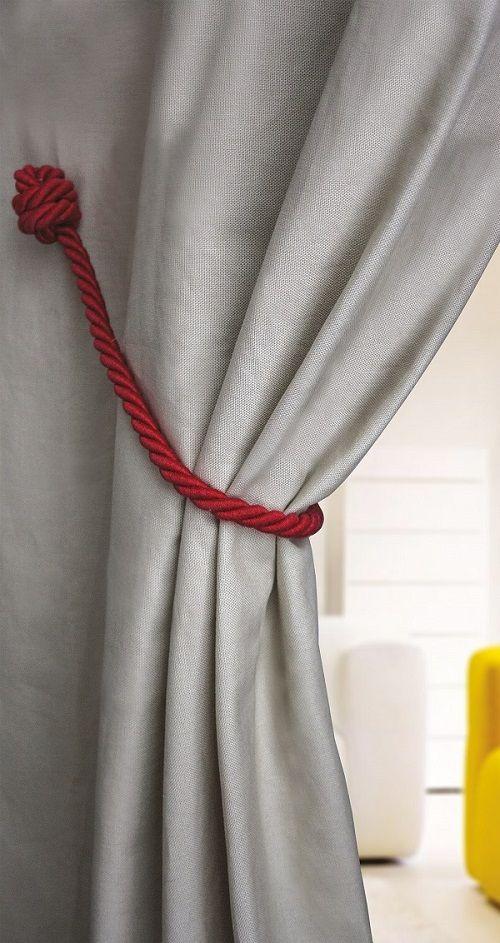 12 best magnetic curtain tie backs images on pinterest. Black Bedroom Furniture Sets. Home Design Ideas
