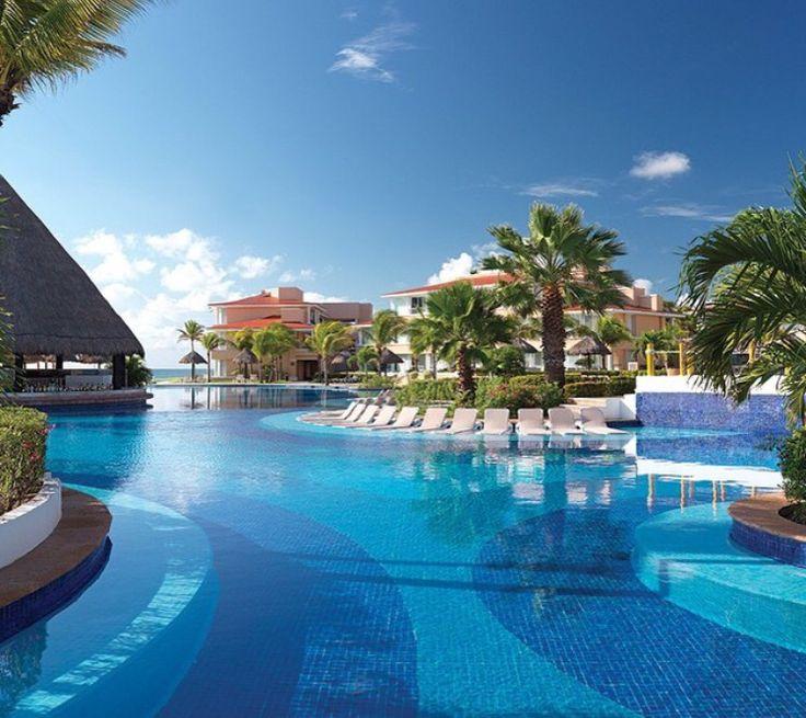 Pool at Moon Palace , Cancun Mexico