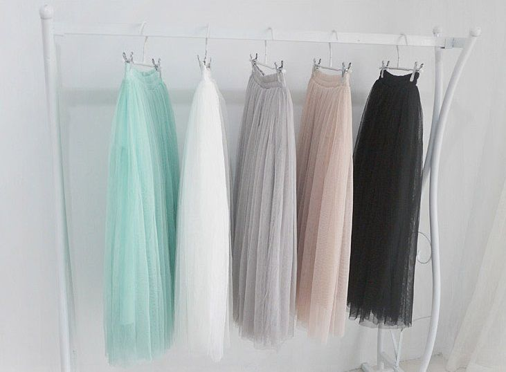 A fluffy gauze/tulle maxi skirt - 116 Best All Tulle, All The Time! Images On Pinterest Skirts
