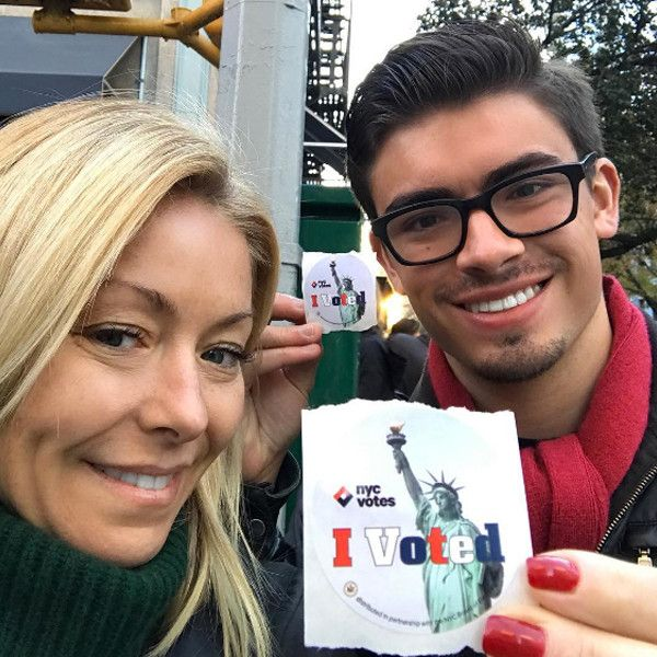 Kelly Ripa: Celebrities Hit the Polls and Vote