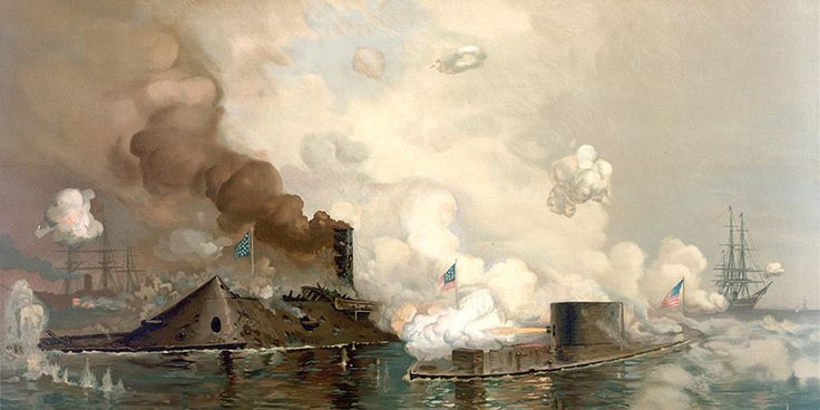 """The USS Monitor Center – At The Mariners – Museum – Park #union #treatment #center http://credit-loan.nef2.com/the-uss-monitor-center-at-the-mariners-museum-park-union-treatment-center/  Monitor Center"""" rel=""""home"""">The USS Monitor Center """"The Monitor and Merrimac: The First Fight Between Ironclads"""" Chromolithograph of the Battle of Hampton Roads Produced by Louis Prang Co. Boston, 1886 Public Domain Battle of the Ironclads USS Monitor and CSS Virginia meet at Hampton Roads, VA. This is the…"""