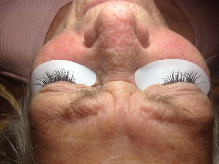 Client 83 years old - just proofs you are never too old to have eyelash extensions!!!