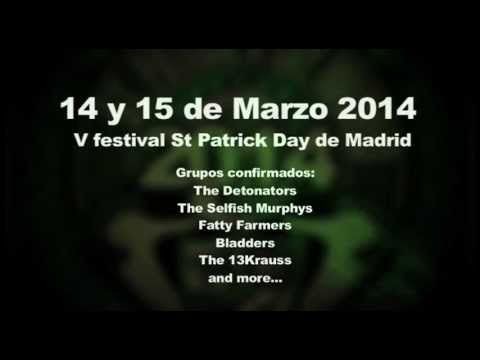 Promo V Festival St Patrick Day de Madrid - YouTube
