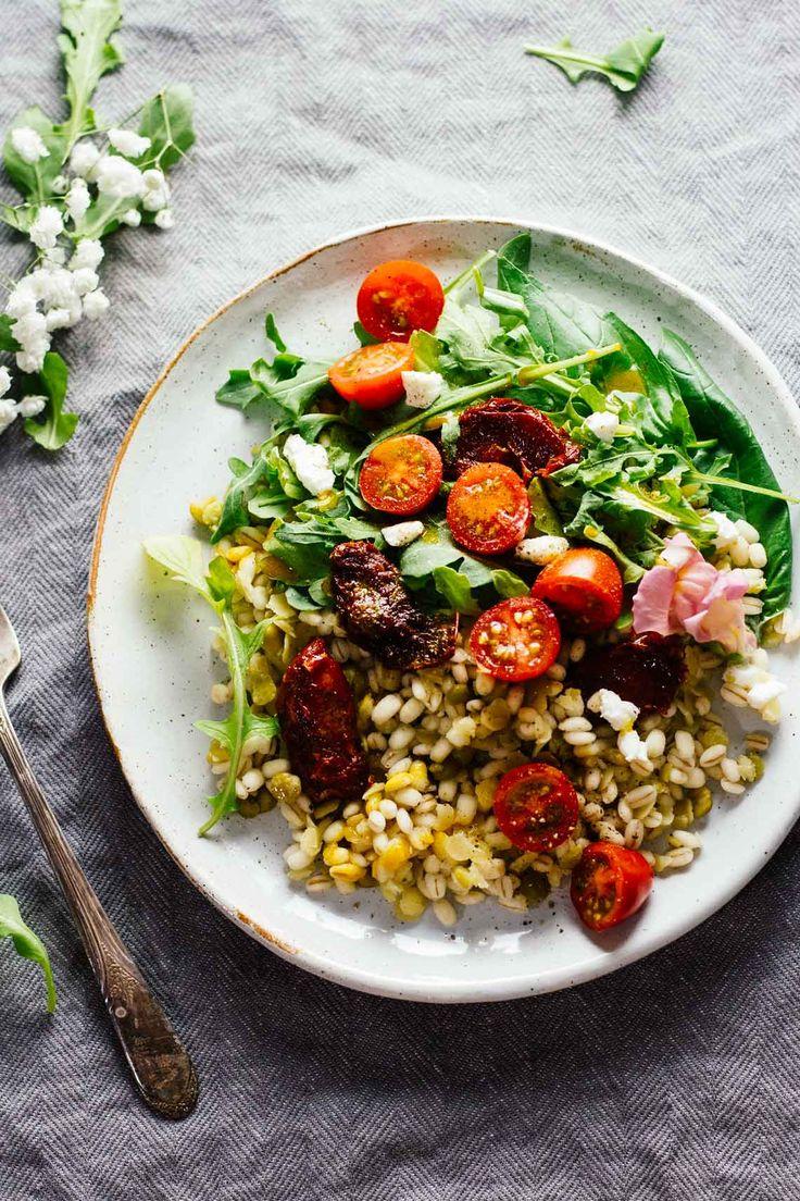Sun-Dried Tomato & Arugula Lentil Salad