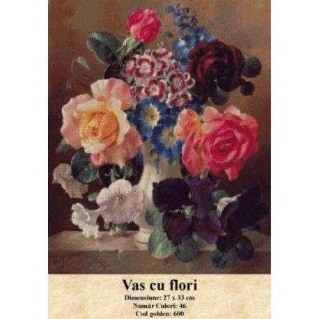 Seturi goblen Vas cu flori http://set-goblen.ro/flori/3878-vas-cu-flori.html