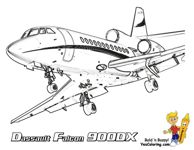 exclusive lavish airplane printables any kids can color print yours free at yescoloring www