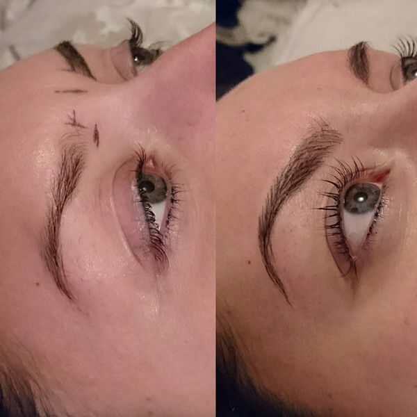 3-D brows