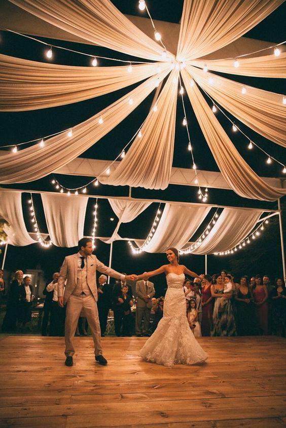 35 idées de décoration de mariage en plein air fantastiques pour les tendances…
