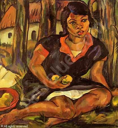 STERN Irma - Cape girl with fruit