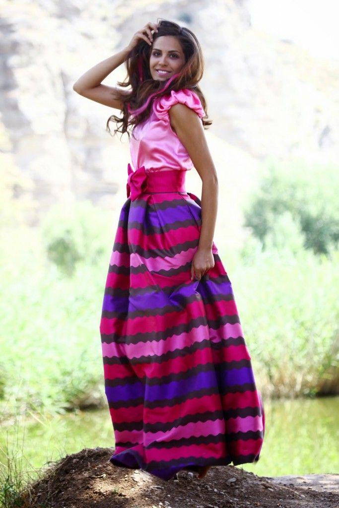 49 best Vestidos de fiesta images on Pinterest | Tan wedding, Long ...