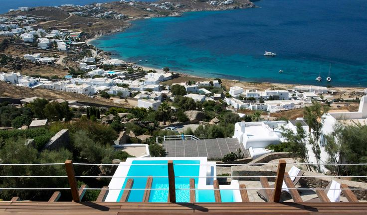 Located in the area of Agios Ioannis in Mykonos and only a short distance to the beach Villa Agios Ioannis ...