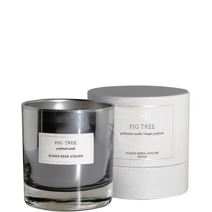 Cloon Keen Atelier create perfumed candles by hand in their Galway workshop. Evokative of warm Italian summers, try the Fig Tree Candle, exclusive to Brown Thomas, for a wonderfully relaxing experience. Featuring notes of green leaves, fig, wood and amber, these unique candle are ene of live's little luxuries. From 80 euros in Brown Thomas online.