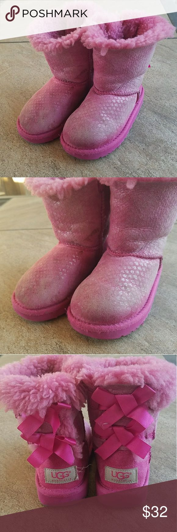 Girls UGG boots These are in good condition a little dirty but no major wear. UGG Shoes Boots
