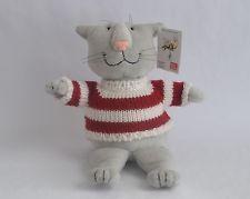 Edward Gorey - Плюшевый Свитер Кошки - Красный/Белый