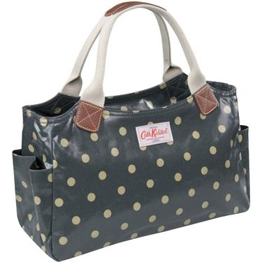 I need to invest in a water-proof handbag... and have ALWAYS adored Cath Kidston.... I can't go too flowery because it'll have to match most work outfits... and I think the polka dots are a little more classy but which bag is best?? @Elizabeth Price, @Jessica Petkun @Bethany Berens... and anyone else... if you see these pins.. help! :)
