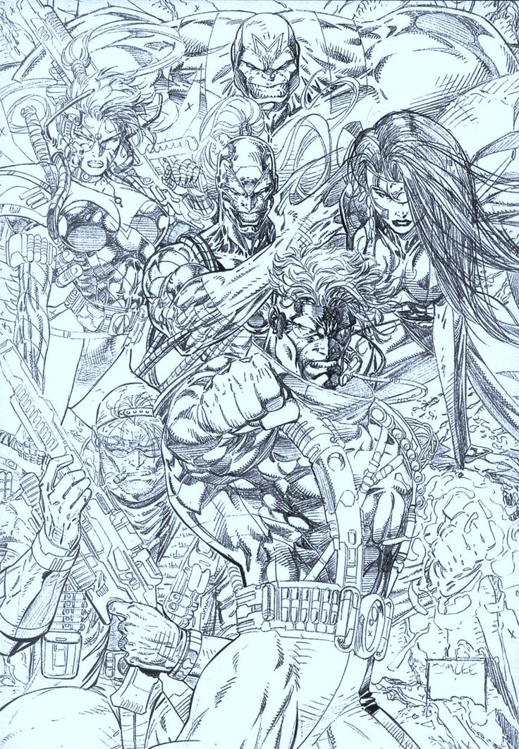 Wild C.A.T.S. #1 Cover | Jim Lee