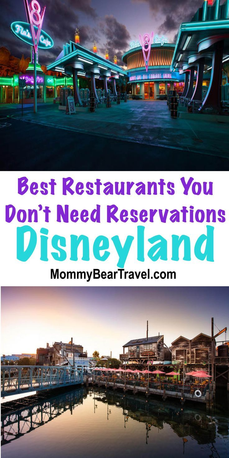 Best Disneyland Restaurants You Do Not Need Reservations For - I love all the details about each restaurant.