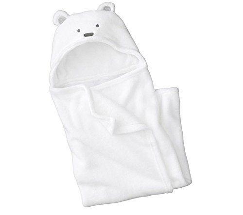 LATH.PIN Peignoir de bain à Capuche Serviette de bain pour Bébé Blanc: Tweet Materiau:polaire+coton douce et haut-qualité votre bébé sera…