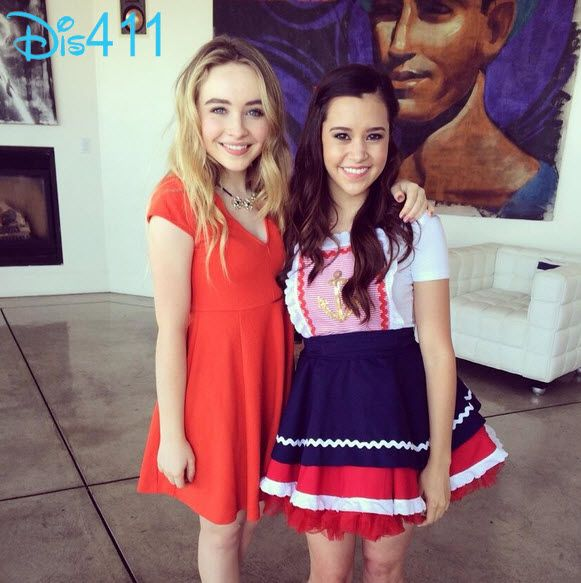 Photos Sabrina Carpenter With Megan Nicole At Radio