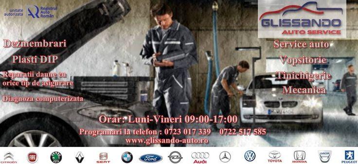 GLISANDO & Cartel Auto Service Cluj vine în întampinarea dumneavoastră cu servicii de diagnoza auto de cea mai bună calitate, pentru o serie lar