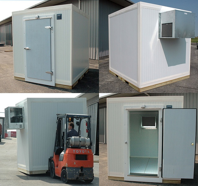 Outdoor Walk-In Cooler or Freezer with Refrigeration by Barr, Inc - For an abattoir?