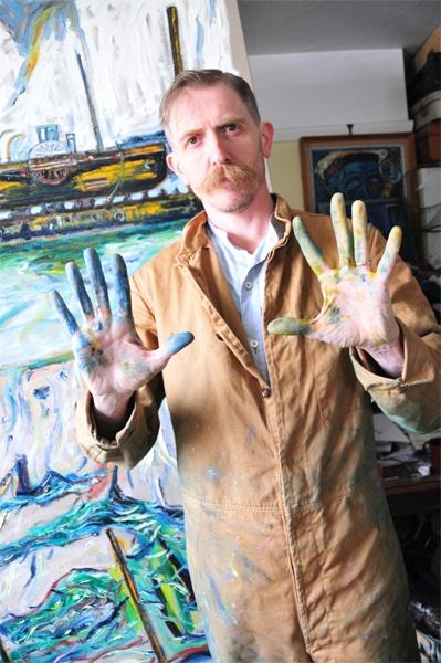 Shawn Vinson, Billy Childish (Hero of the British Art Resistance), archival pigment print