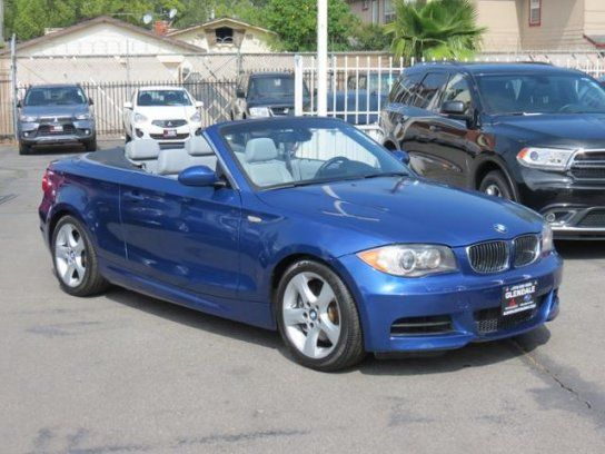 Convertible 2008 BMW 135i With 2 Door In Glendale CA 91204