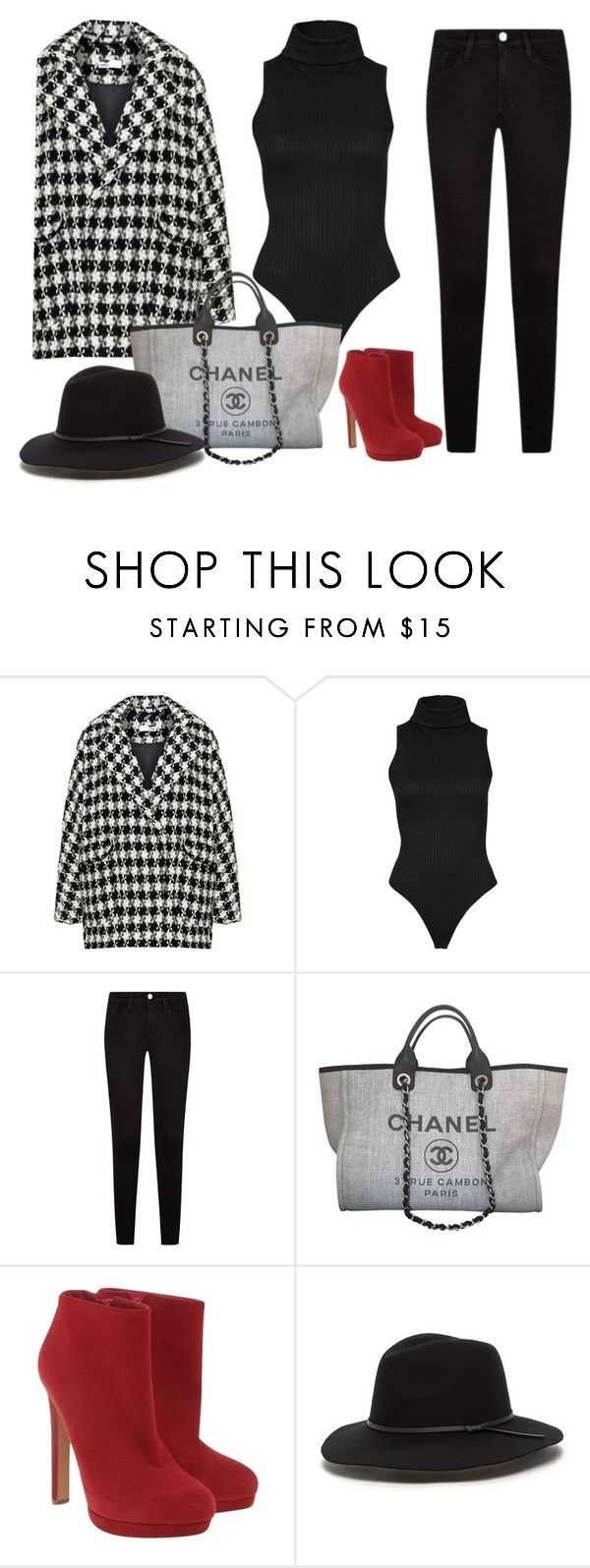 """""""Chic woman"""" by monika1555 on Polyvore featuring Bohème, Chanel and Alexander McQueen"""