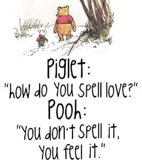 Wise words, Pooh Bear!