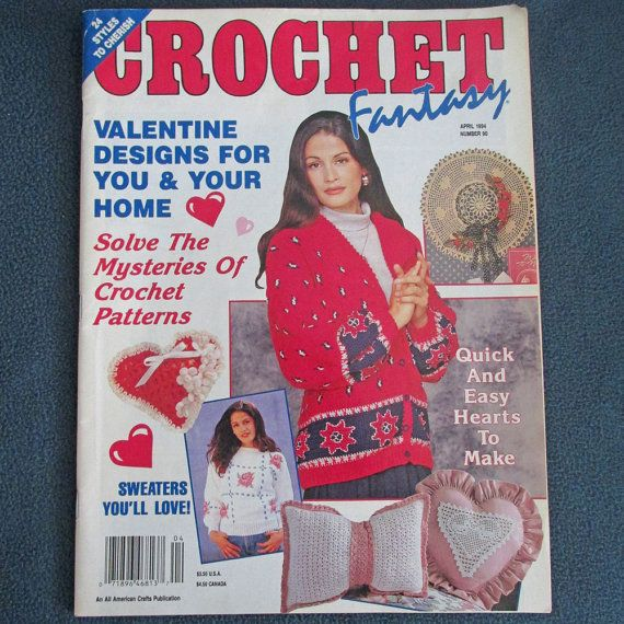 Crochet Fantasy Magazine : Crochet Fantasy Magazine No. 90 by DeborahVoizin on Etsy, $4.85