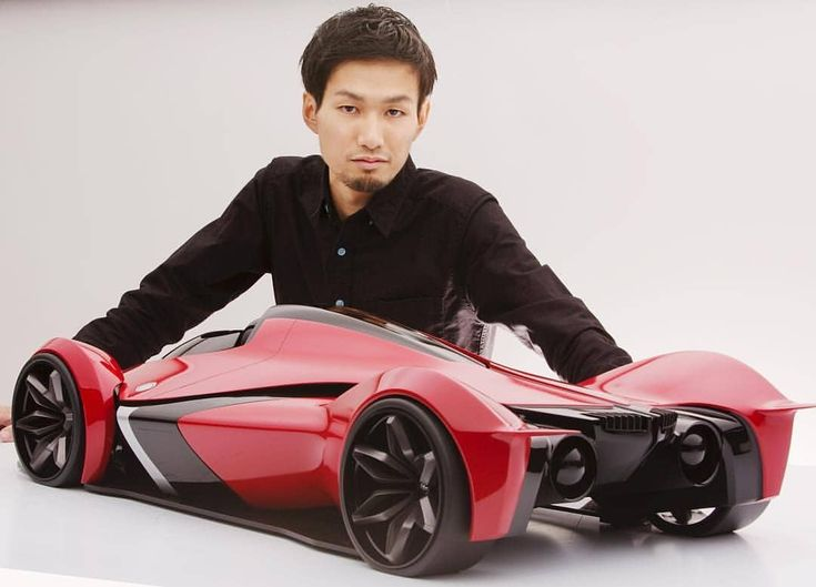 [Designer Update] Meet @iwai.tatsuya, designer of the Lexus Fuel Cell Concept. CNC milled Concept #design101trends