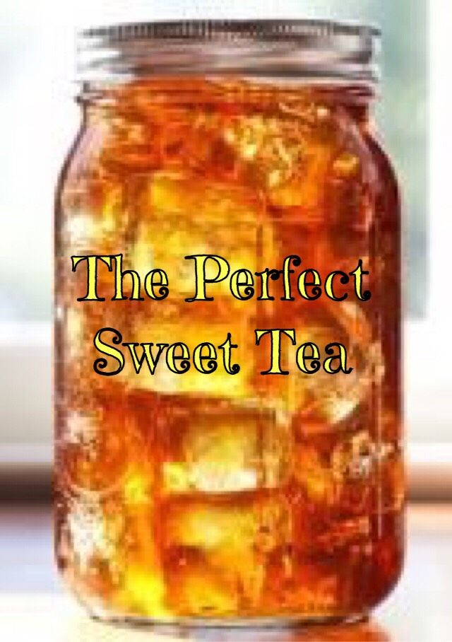 ❤️The PERFECT Sweet Tea…with A Secret Ingredient!❤️