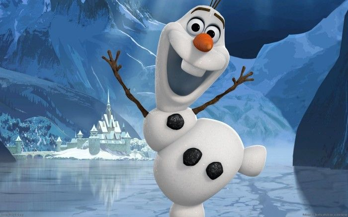 Olaf The Snowman Likes Warm Hugs From Frozen Disney