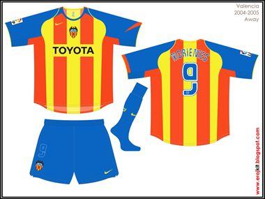 Valencia | away jersey | 2004-05
