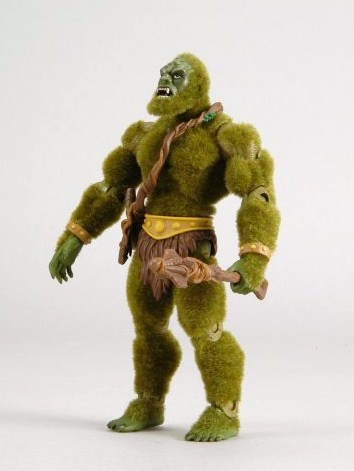 This is Moss-man.  He was my favorite action figure in the He-man line.  The dude was really cool feeling.