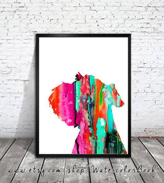 Miniature Schnauzer 3 Watercolor Print, animal art, dog watercolor, watercolor painting, animal watercolor, Schnauzer art,dog art,dog poster by WatercolorBook on Etsy https://www.etsy.com/listing/222864281/miniature-schnauzer-3-watercolor-print